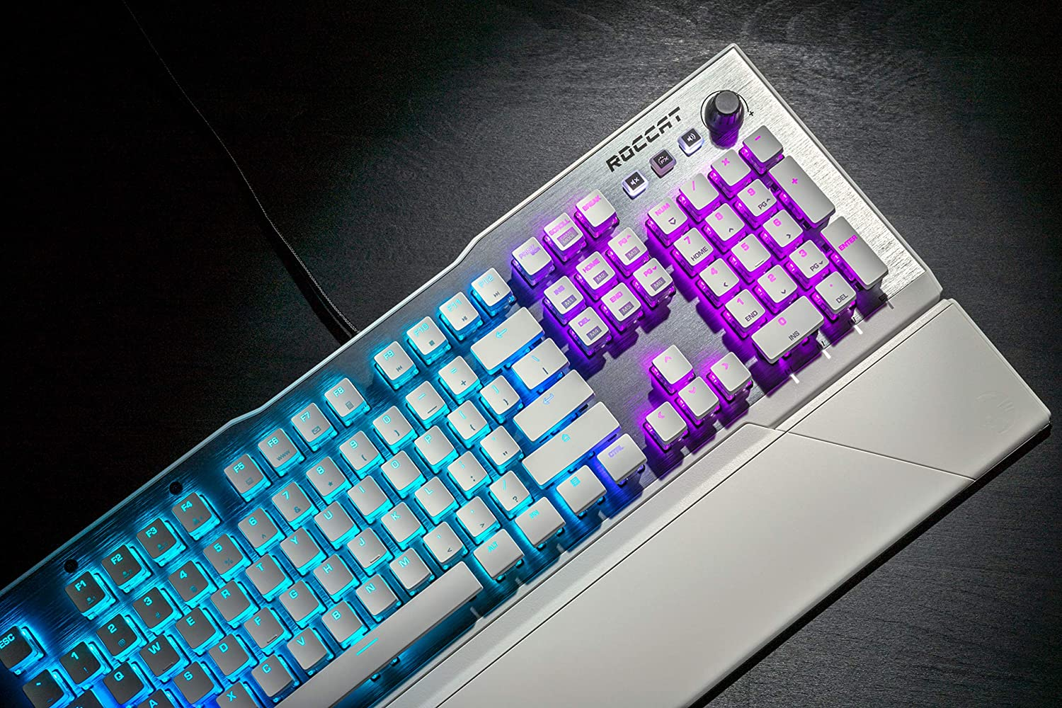 Vulcan 122 Aimo RGB Mechanical Gaming Keyboard Brown Switches