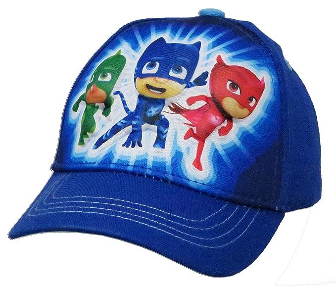 PJ Masks Boys Cotton Baseball Cap Hat - Toddler 2-5 [6014]