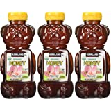 Kirkland Signature Clover Honey Bears- 1 Lb 8 Oz-(3-pack)