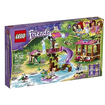 Amazoncom Lego Friends Jungle Rescue Base Building Set 41038 Toys