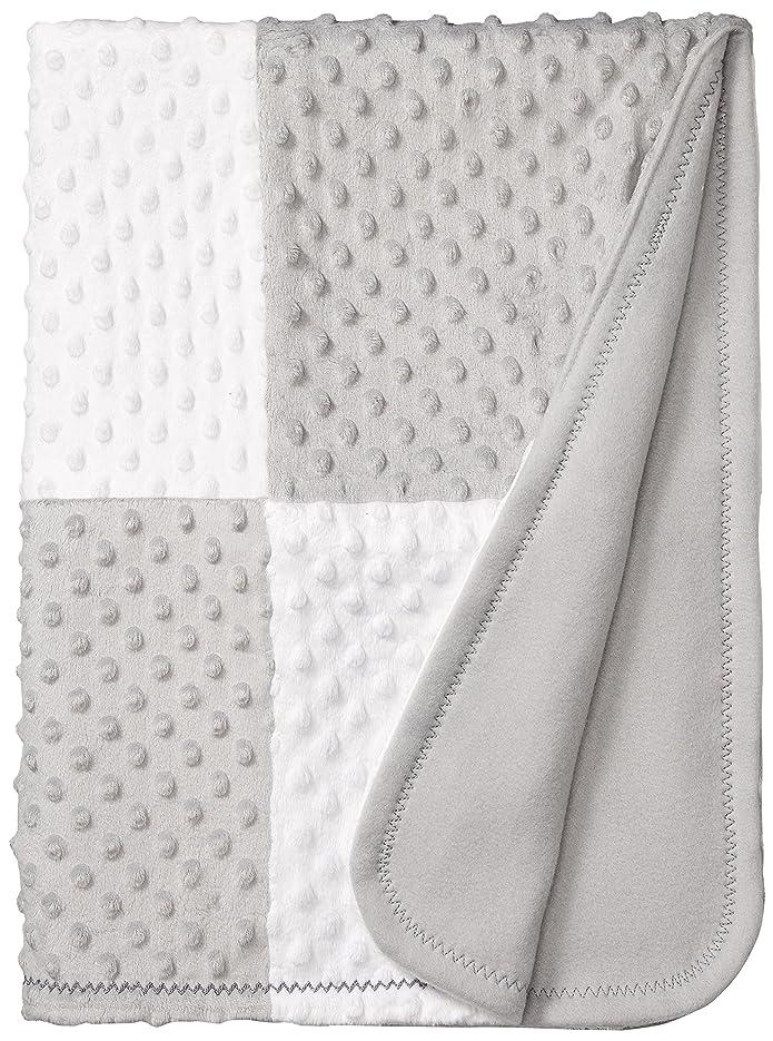 Spasilk Newborn Minky Raised Dot Blanket