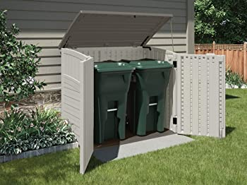 Garbage Can Sheds
