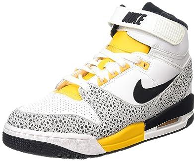 0685b25c0 Nike Nike Air Revolution - Zapatillas de Baloncesto para Hombre, Talla 43,  Color Blanco/Negro/Gris/Amarillo: Amazon.es: Zapatos y complementos