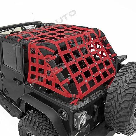 Amazon.com: Sistema de red de carga resistente, roja. Red de ...
