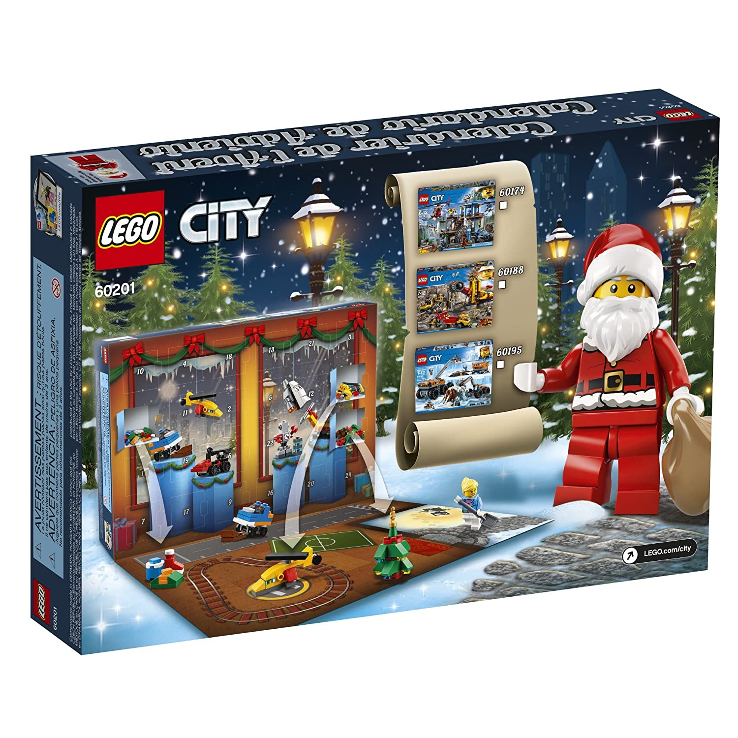 Amazon LEGO City Advent Calendar New 2018 Edition