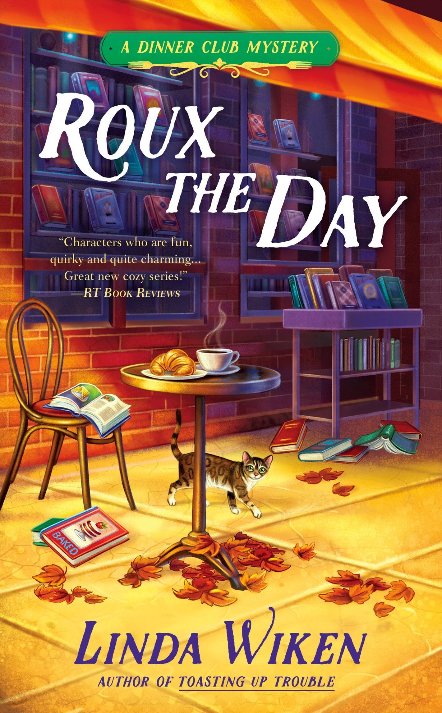 Amazon.com: Roux the Day (A Dinner Club Mystery) (9780425278222): Linda  Wiken: Books
