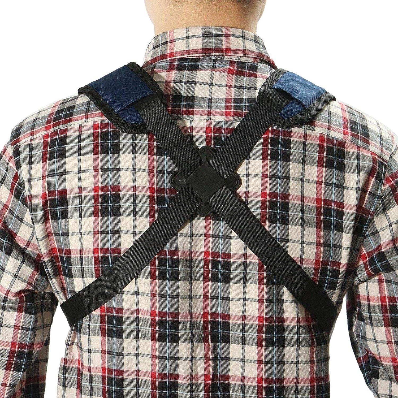 KANGIRU Saxophon Gurt Schultergurt Verstellbarer Soft Sax Harness Schulterpolstergurt 1 ST/ÜCK