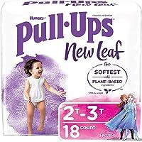 Pull-Ups New Leaf Girls' Potty Training Pants Training Underwear, 2T-3T, 18 Ct