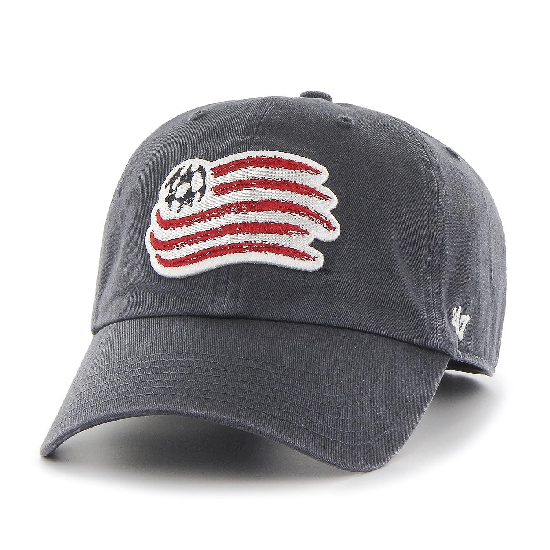 Buy MLS New England Revolution  47 Brand Clean Up Adjustable Hat ... ba0be5de474