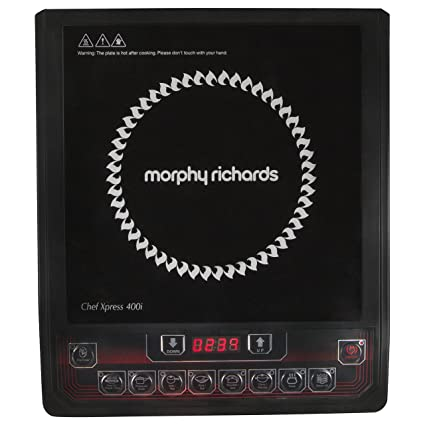 Morphy Richards Induction Cooker - Chef Xpress 400i,Black
