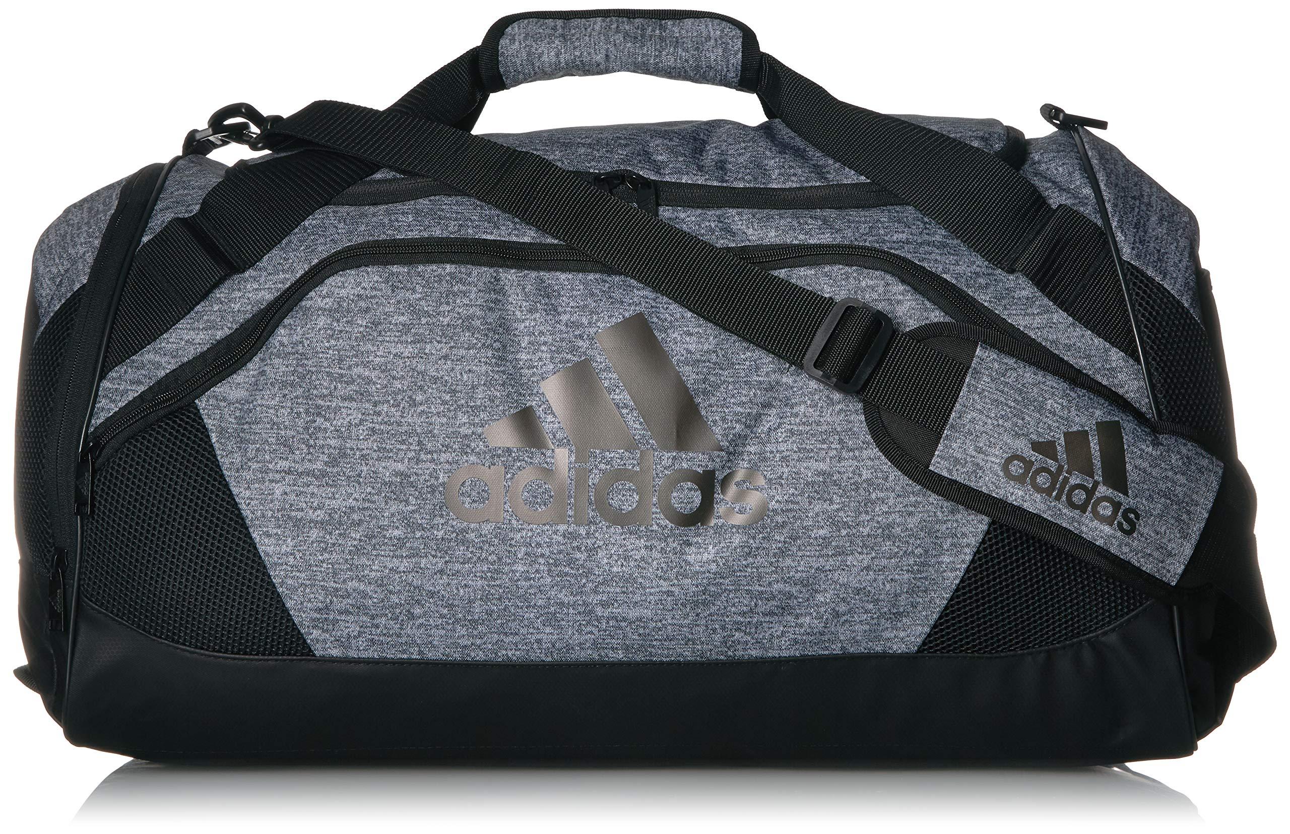 adidas Team Issue Medium Duffel Bag, Onix Jersey, One Size