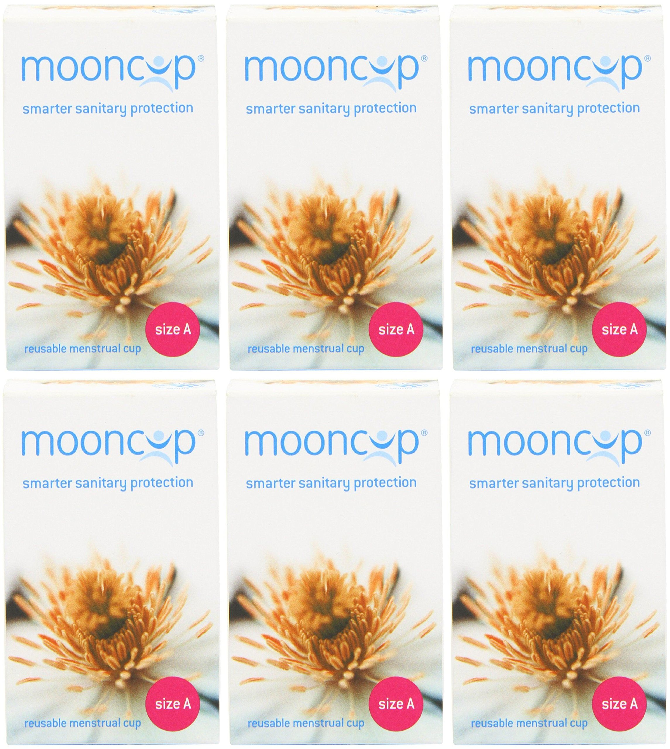(6 PACK) - Mooncup Mooncup Size A | inleSingle | 6 PACK - SUPER SAVER - SAVE MONEY