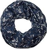 styleBREAKER écharpe snood avec impression motif cachemire métallisé un peu partout, écharpe, toile, pour femmes 01016123
