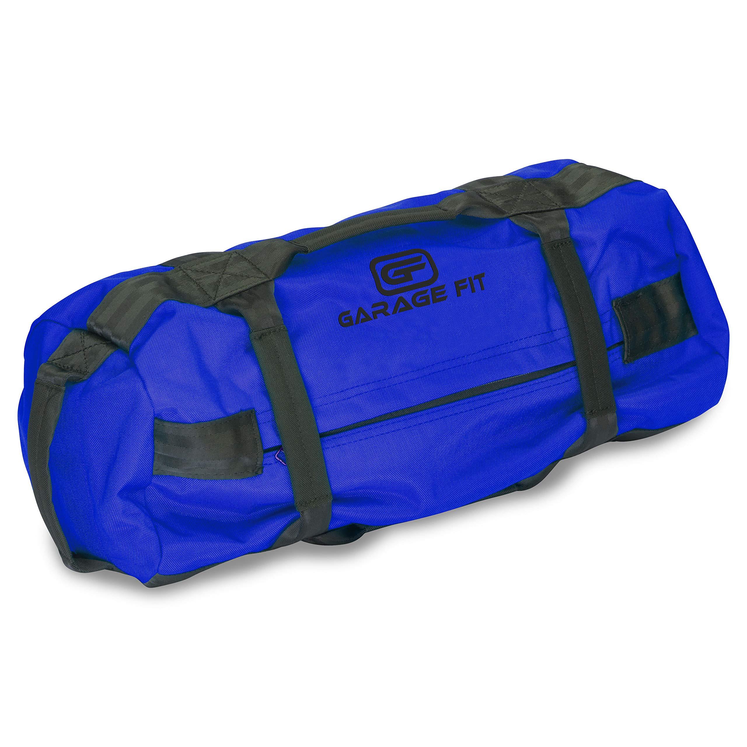 Garage Fit Heavy Duty Workout Sandbags with Fabric Handle for Fitness, Exercise Sandbags, Military Sandbags, Weighted Bags, Heavy Sand Bags, Weighted Sandbag, Fitness Sandbags