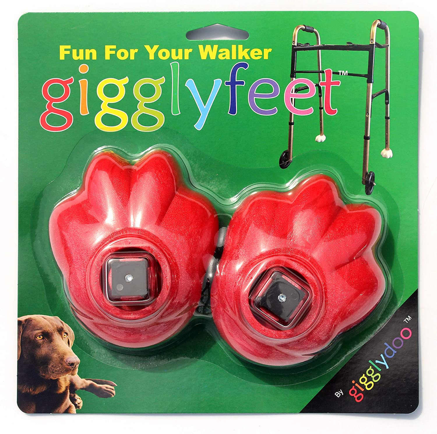 Amazon.com: Pies gigglyfeet de MEDA Nova Fun Walker Feet ...