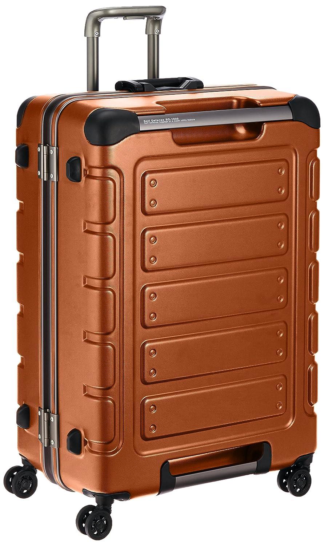 [シフレ] siffler スーツケース グリップマスター トライデント 67cm 90L 5.2kg預入157㎝サイズ TSAロック B013VZFC2Qレスキューオレンジ