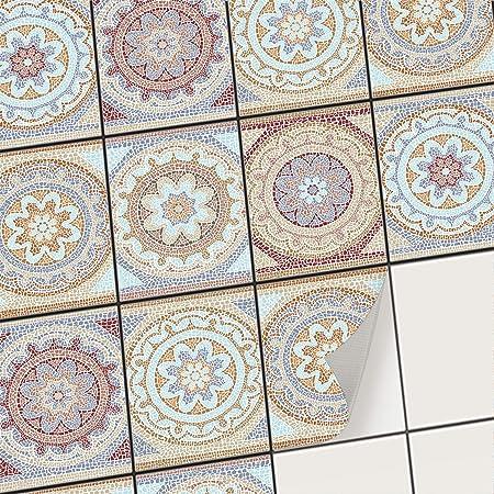 Delicieux Creatisto Klebefliesen Stickerfliesen Fliesenfolie   Klebe Folie Für  Wandfliesen | Klebefliesen Deko Folien Für Fliesen In