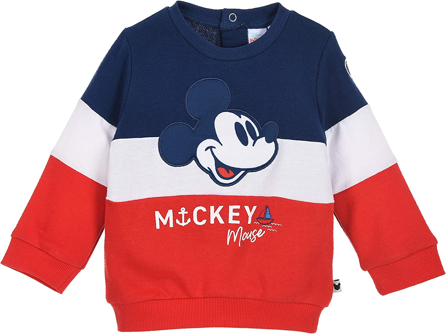 Mickey Mouse Baby-Boys Sweat Shirt
