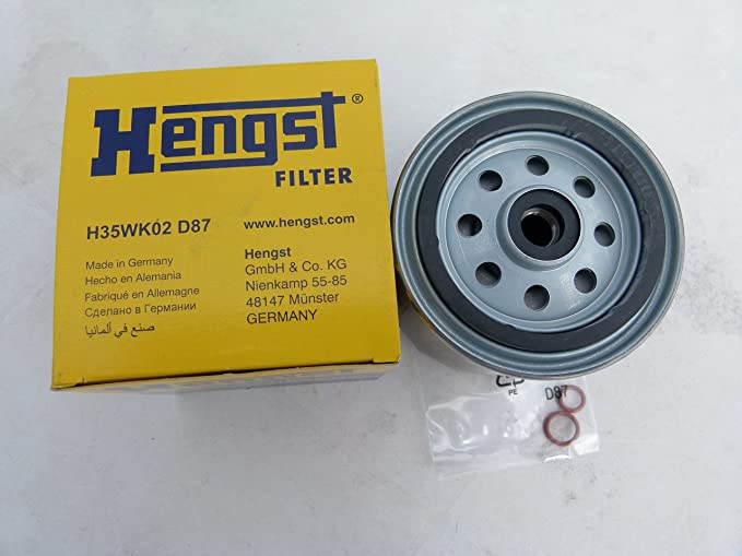12-Pieces Oem Hengst Made in Germany Oil Filter/'s for Sprinter Diesels
