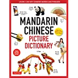 Mandarin Chinese Picture Dictionary: Learn 1,500 Key Chinese Words and Phrases (Perfect for AP and HSK Exam Prep; Includes On