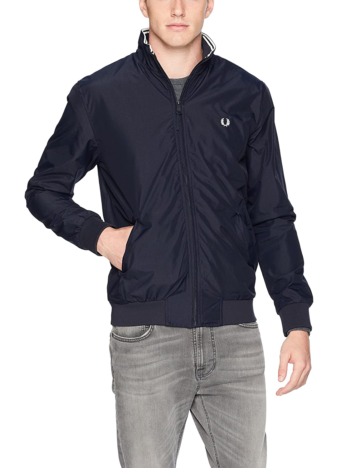 Fred Perry Mens Standard Brentham Jacket J4503
