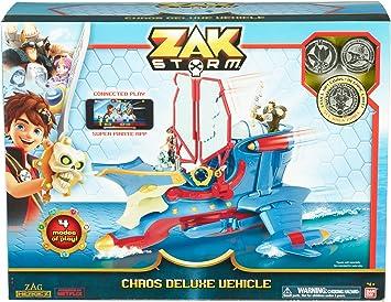Amazon.com: Zak Storm figuras de acción, el vehículo Chaos ...