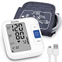 Blood Pressure Monitor Upper Arm by Alcedo| Automatic Digital BP Machine with Wide-Range...