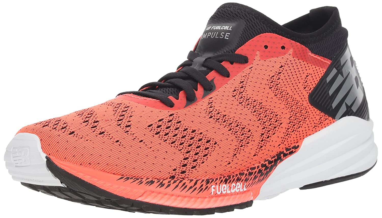 New Balance Fuel Cell Impulse, Hausschuhe de Running para Hombre Orange (Flame schwarz Rb)
