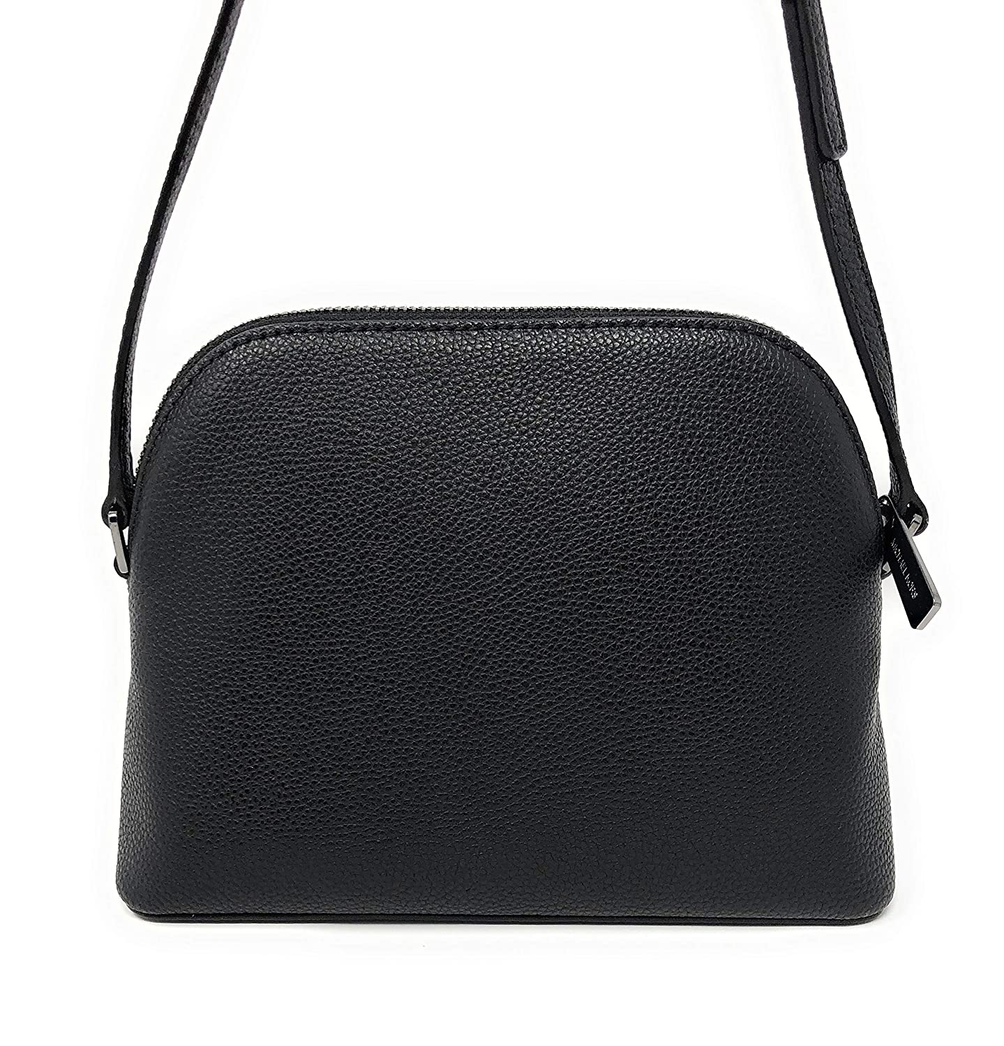 fb836f23e53a99 Amazon.com: Michael Kors Adele Medium Dome Leather Crossbody bag in Black:  Clothing
