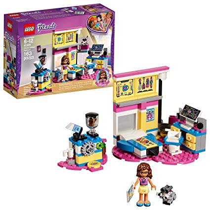 Amazoncom Lego Friends Olivias Deluxe Bedroom 41329 Building Set