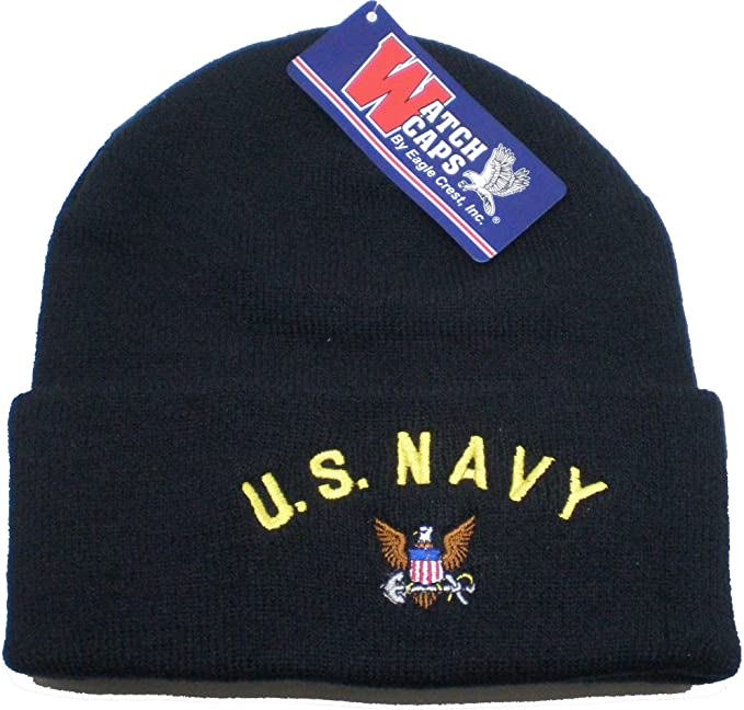 Amazon.com  US Navy Knit Cap for Men and Women Military Hats United ... 060efaf8db8