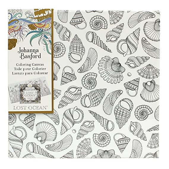 Johanna Basford Lost Ocean Colouring Canvas