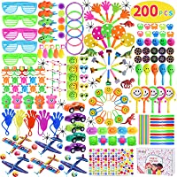 Max Fun 200Pcs Party Toys Assortment Party Favors for Kids Birthday Carnival Prizes Box Goodie Bag Fillers Classroom…