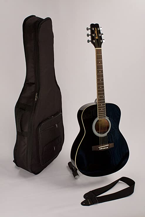 Venta Negro Tamaño Folk Cuerdas De Acero De Guitarra Acústica (6 ...