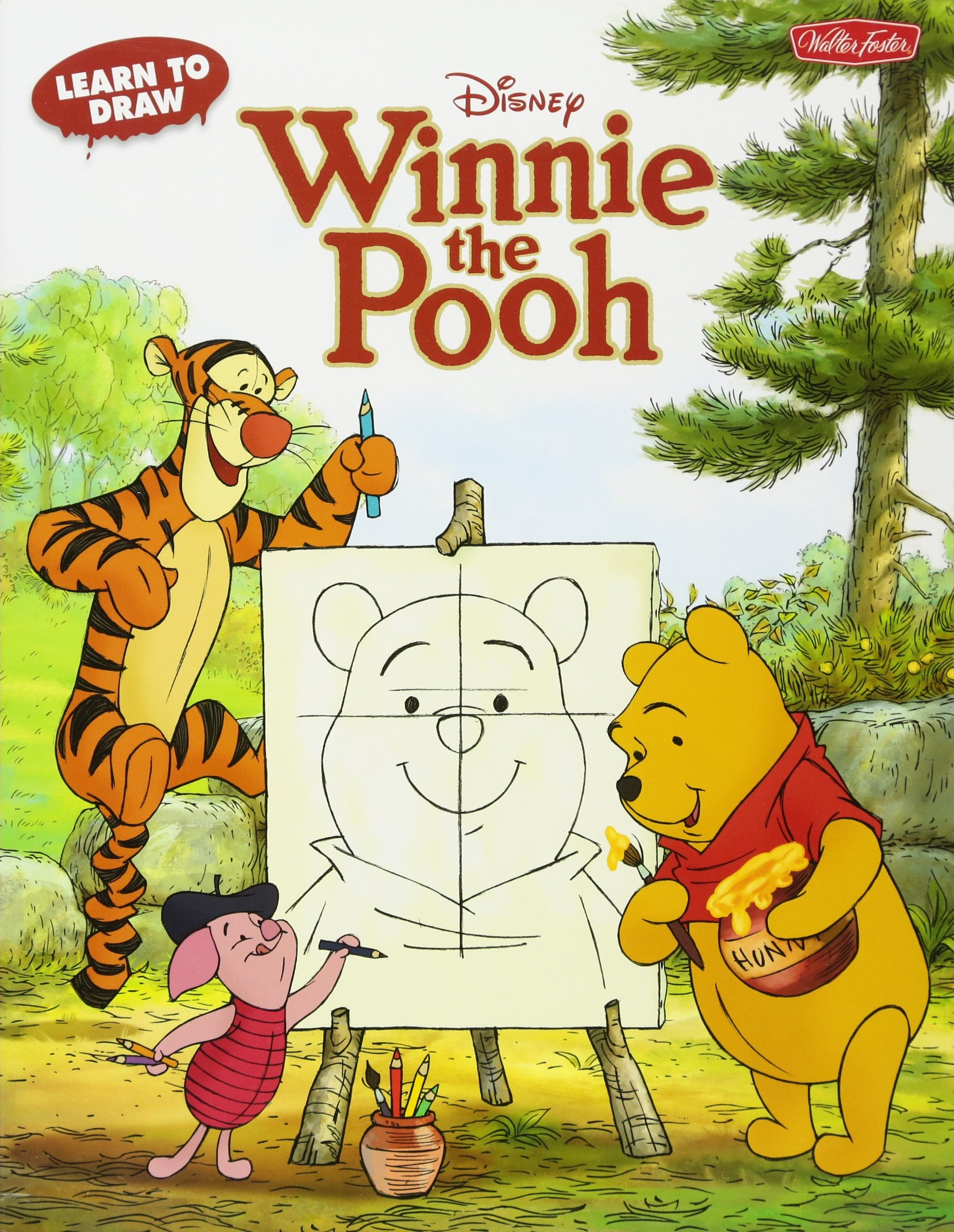 Learn To Draw Disney S Winnie The Pooh Featuring Tigger Eeyore