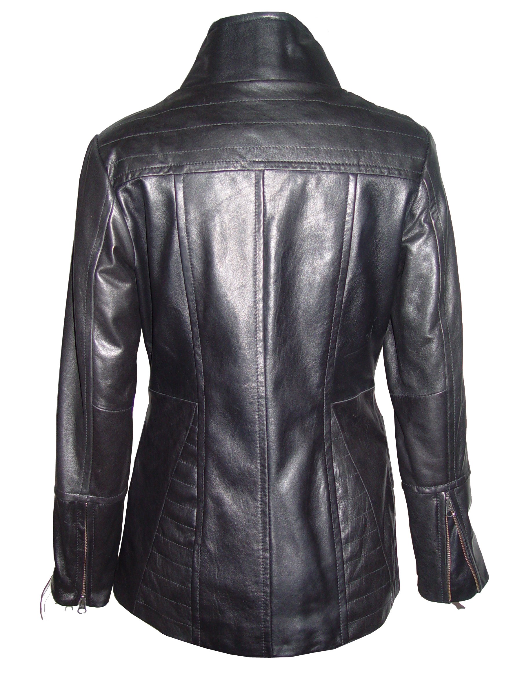 Nettailor 4188 Leather Jackets Clothes Ladies Soft Lamb by Paccilo (Image #3)