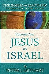 The Gospel of Matthew Through New Eyes Volume One: Jesus as Israel Kindle Edition