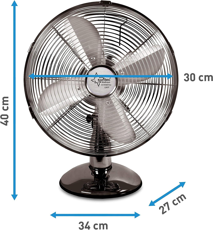 SUNTEC CoolBreeze 3000 TVM - Ventilador (Metálico, 35W, 220 V, 50 ...
