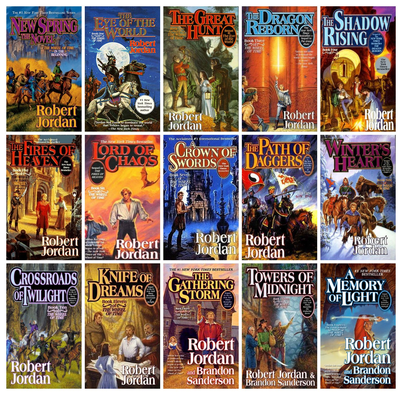 Image result for wheel of time book series