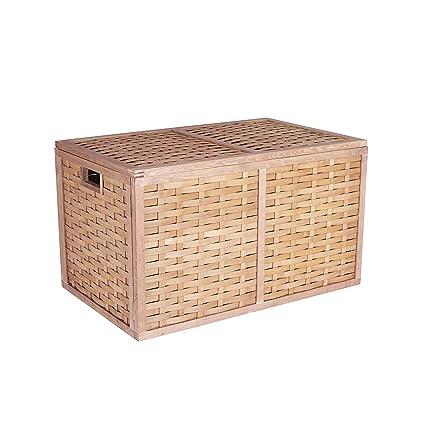 Household Essentials ML-5675 Extra Large Wicker Storage Box with Lid - 15.75u0026quot;H  sc 1 st  Amazon.com & Amazon.com: Household Essentials ML-5675 Extra Large Wicker Storage ...