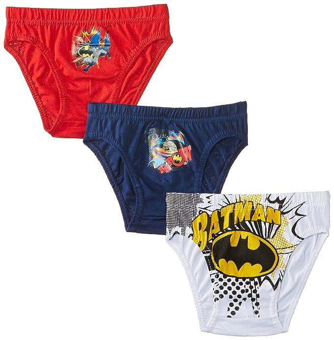Warner Bros. Batman Nh3015 - Calzoncillo para niños, color multicoloured, talla 2/