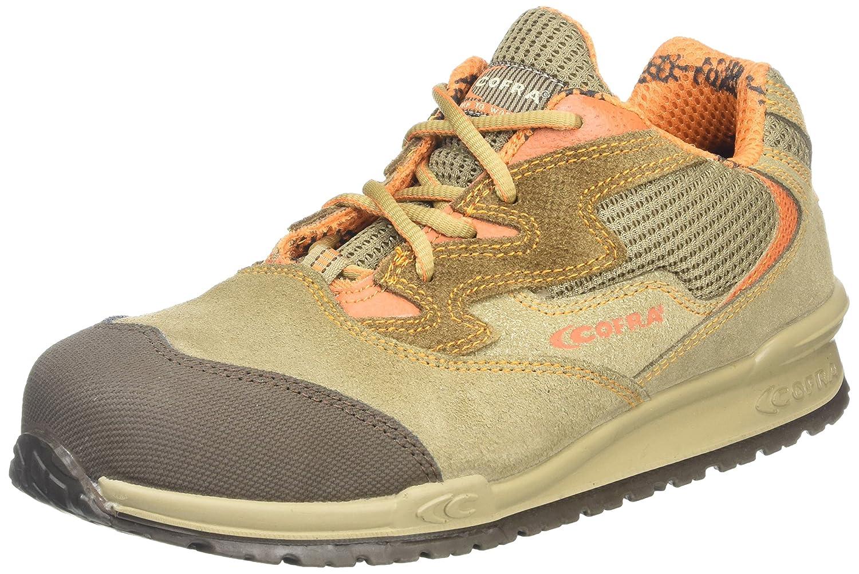/000.w40/Gaudini P/ /Zapatos de seguridad S1/SRC talla 40/MARR/ÓN Cofra 78630/