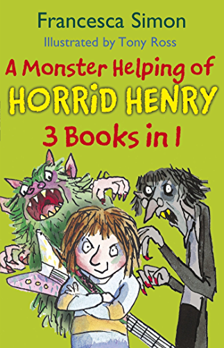 A Monster Helping of Horrid Henry 3-in-1: Horrid Henry Rocks/Zombie Vampire/Monster Movie