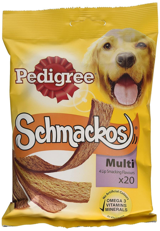 Pedigree Schmackos Multi 20 Sticks (Pack of 12)