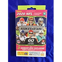 $45 » Factory-Sealed 2020 Rookies and Stars NFL Hanger Box - 60 Cards Per Box