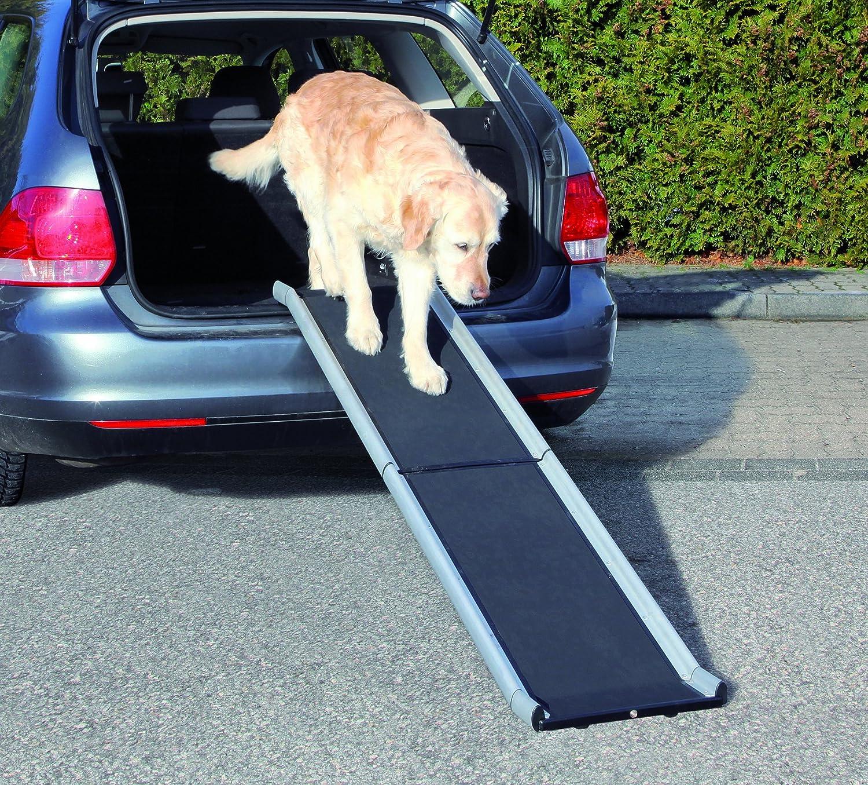 Trixie Rampe en aluminium pliable Petwalk pour chien, 155x 38cm, noir 4011905039381