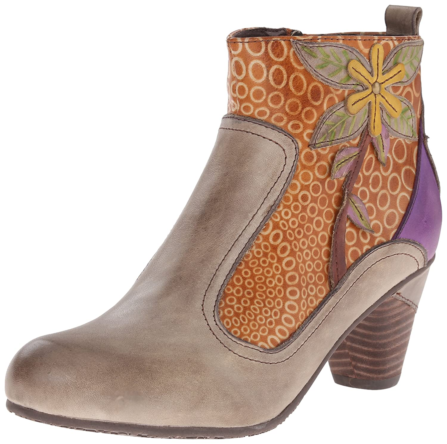L'Artiste by Spring Step Women's Dramatic Boot B00XVUDGF2 41 EU/9.5-10 M US|Taupe Multi