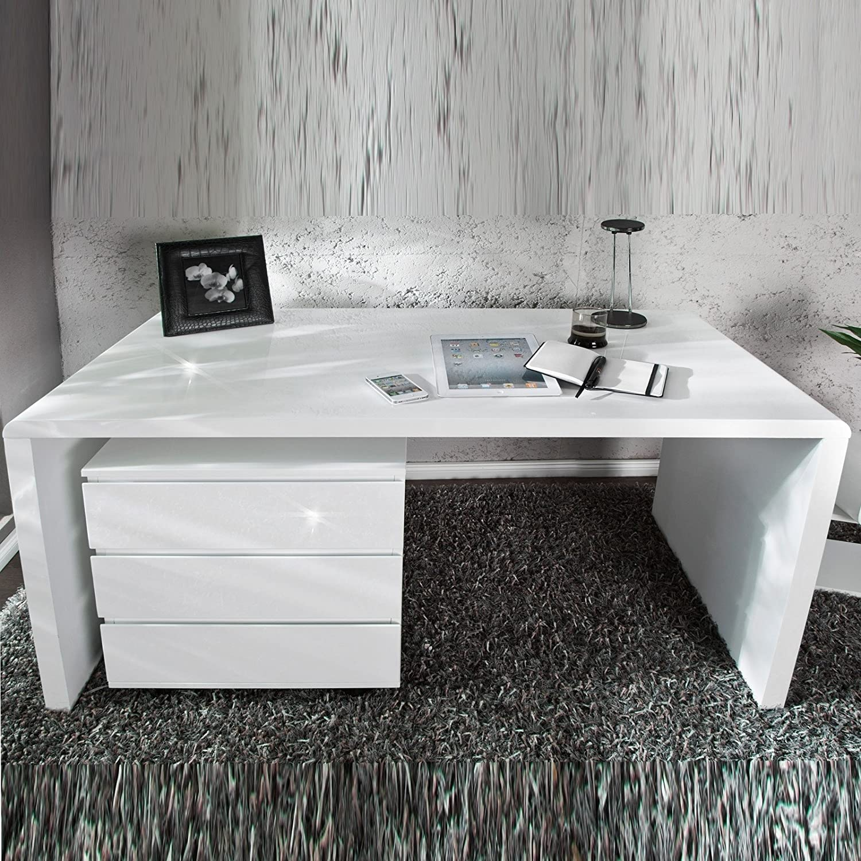 """Schön Schreibtisch 160x60 Beste Wahl Moderner Design """"helsinki"""" Holztisch Bürotisch 140 Cm"""