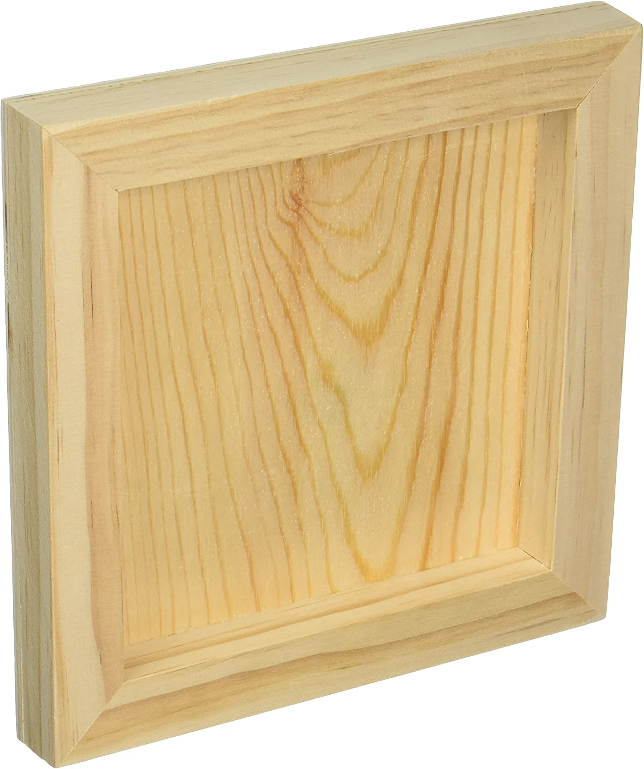 8 by 8 by 1-Inch DARICE 9190-334 Unfinished Wood Wall Panel