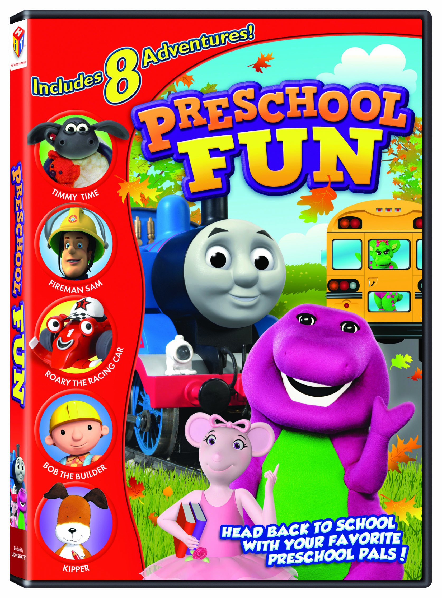 Hit Favorites Preschool Fun by Universal Studios Home Entertainment